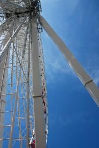 Navy Pier Ferris Wheel Sky View